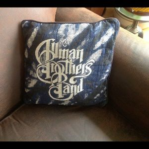 Allman Brothers Band Pillow